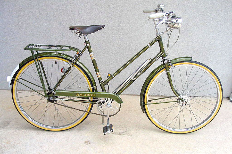 Antigua Bicicleta Raleigh Superbe